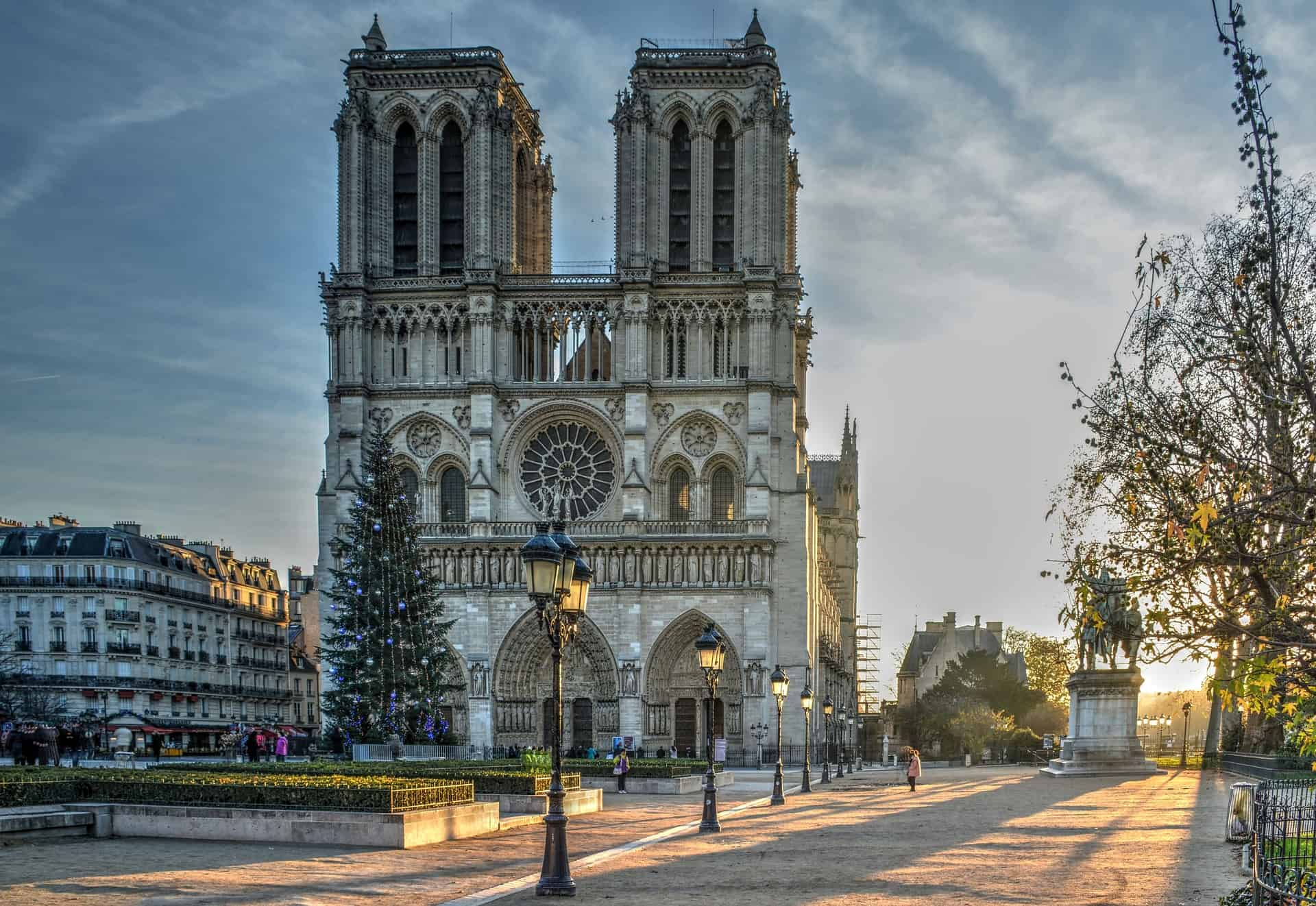The Notre Dame Cathedral of Paris, one of the top France pilgrimage sites.