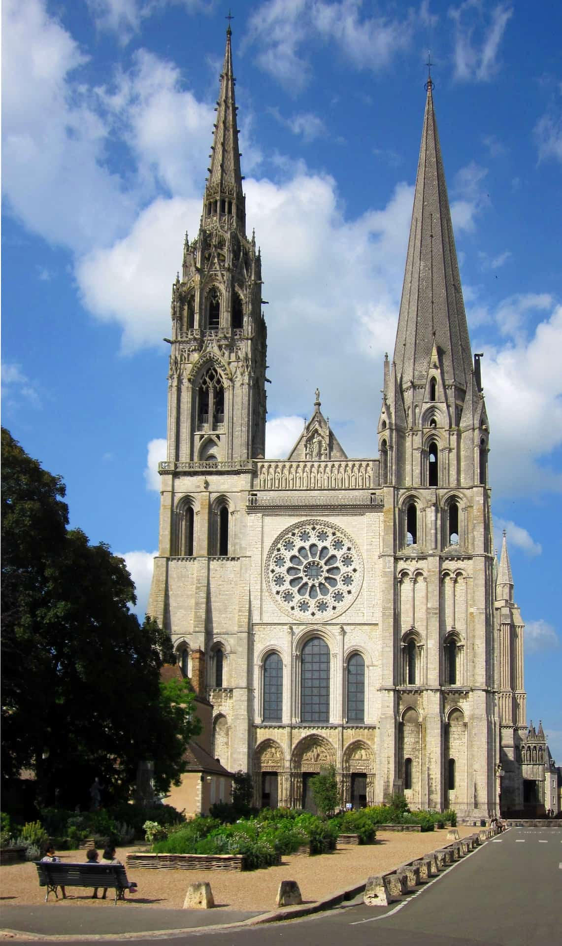 Chartres Cathedral, one of the top France pilgrimage sites.