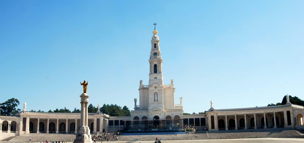 Fatima — A beloved Marian apparition site and just one of Portugal's many Catholic holy sites.