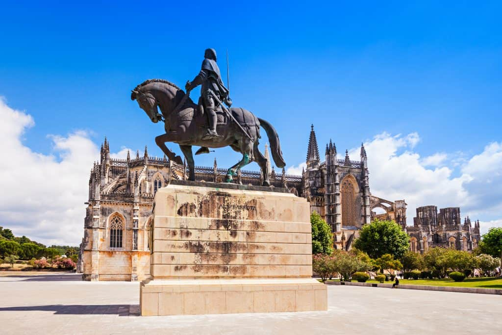 Batalha – Portugal's most victorious battle ground and one of the many Catholic holy sites found in Portugal.