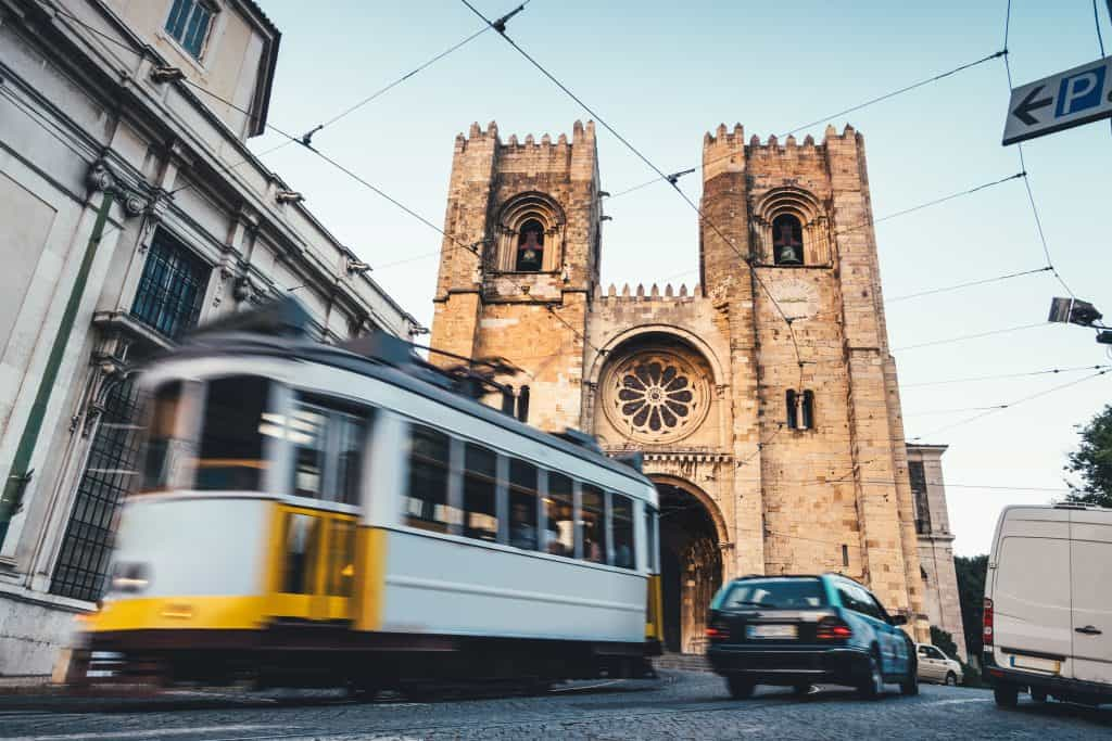Lisbon Cathedral (Santa Maria Major) — St. Anthony of Padua's baptismal site and one of many Catholic holy sites in Portugal.
