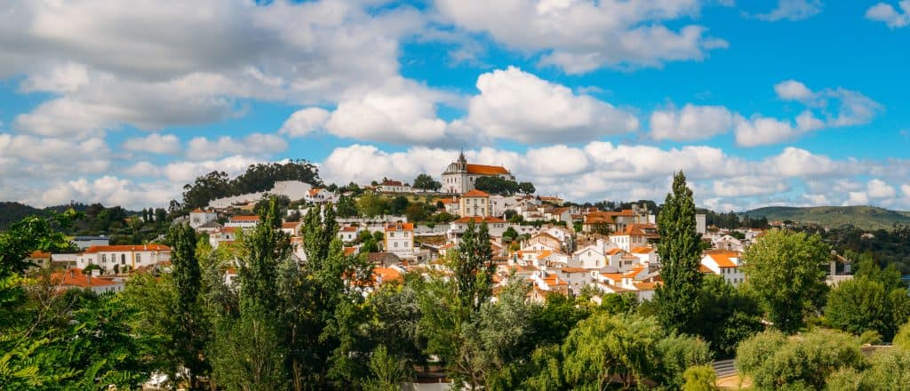 One of Portugal's many Catholic Holy sites, Santarém is filled with peaceful scenery and medieval churches.