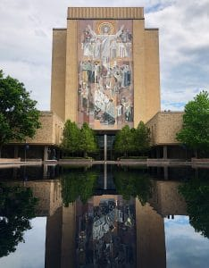 Word of Life Mural (Touchdown Jesus) at University of Notre Dame