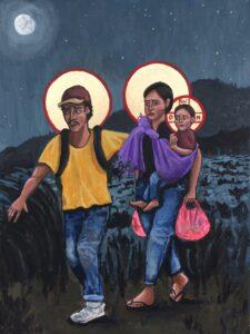 """Icon by Kelly Latimore """"La Sagrada Familia"""""""