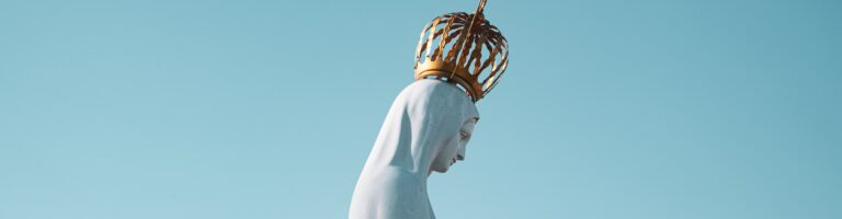 Statue of Mary with Crown — Mary is the inspiration for the World Youth Day 2023 Theme