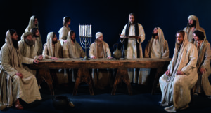 Last Supper During Passion Play