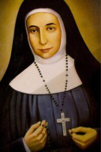 Painting of Sister Mary Alphonsine Danil Ghattas